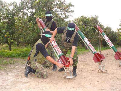 """самодельные ракеты """"Кассам"""""""