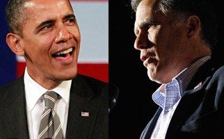 Б. Обама и М. Ромни