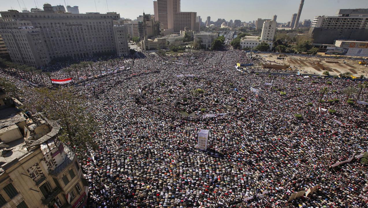 Площадь Тахрир. Источник фото: nato.int